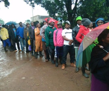 Voting Under Way in Kenya - PHOTOS