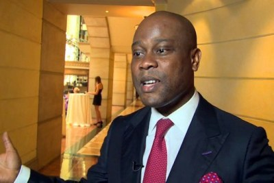 Herbet Wigwe, Access Bank CEO and West Africa's Business Leader of the Year 2017.