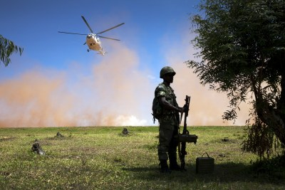 United Nations peacekeepers in the Democratic Republic of Congo (file photo).