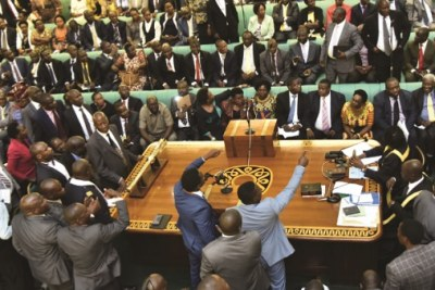 A heated debate is expected in the Ugandan parliament (file photo).