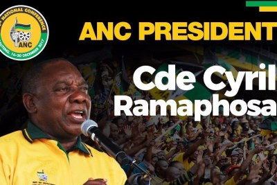 Cyril Ramaphosa is the new president of the African National Congress.