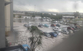 Cleanup Operations Under Way After Heavy Storms in South Africa