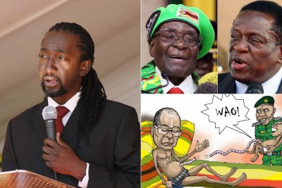 Mugabe is being grossly mistreated by Mnangagwa says nephew Patrick Zhuwao.