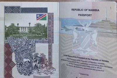 Namibia has launched electronic passports.