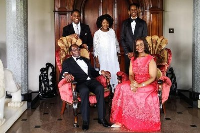 The Mugabe family celebrates Robert Mugabe's 94th birthday.