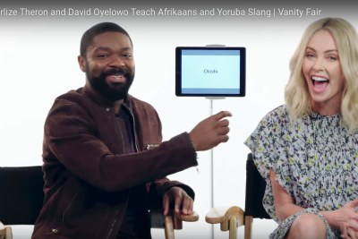 Charlize Theron and David Oyelowo.