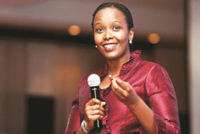 Chief executive of the Rwanda Development Board Clare Akamanzi