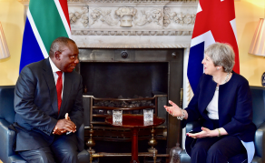 South African President Cuts Short UK Trip to Put Out Home Fires