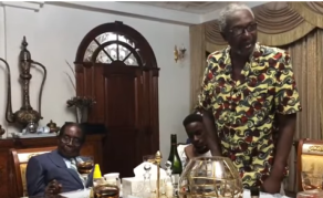 Watch Mugabe's Reaction As Nephew Jokes About Coup