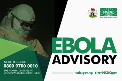 Following confirmation of an outbreak of #Ebola in #Congo, the Nigeria Centre for Disease Control issued a public health advisory.