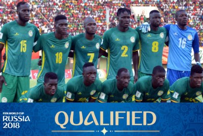 The Senegalese football team.