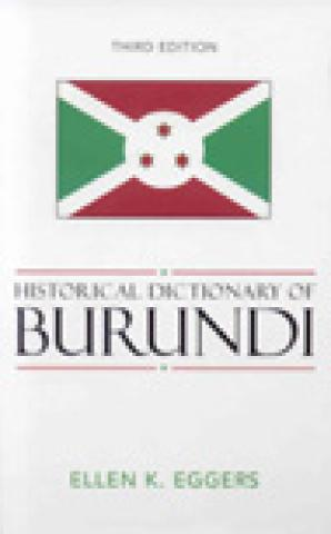 Historical Dictionary Of Burundi (2006)