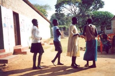 Young Zambian girls (file photo).