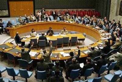 Consei de secutite de l'ONU