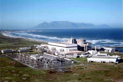 Koeberg nuclear power station (file photo).