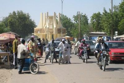Rues de N'Djamena, la capitale tchadienne.