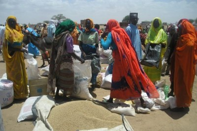 WFP Food Distribution.