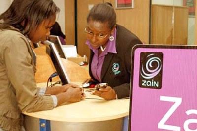 Une boutique de Zain à Nairobi