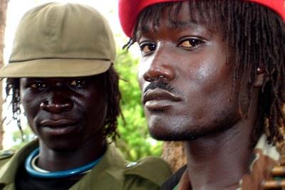 Des rebelles de la LRA.