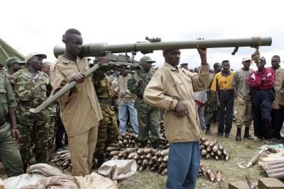 (Photo d'archives) - La présence d'hommes en uniformes burundais dans le Sud-Kivu suscitent des inquiétudes au sein de la classe politique et de la société civile congolaise