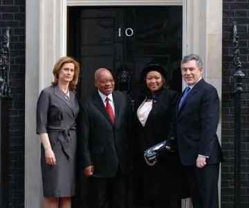 South African President's State Visit to Britain