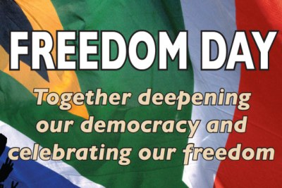 Freedom Day poster 2010.
