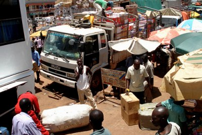 Un marché en Ouganda