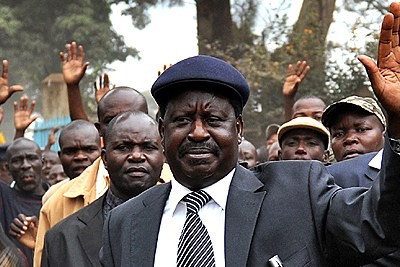 Prime Minister Raila Odinga is the African Union's special envoy to Cote d'Ivoire.