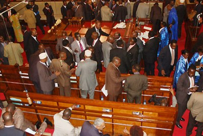 MPs in parliament (file photo).