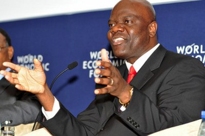 Arthur Mutambara, Deputy Prime Minister of Zimbabwe.