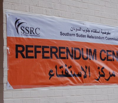 Sudanese in the United States Vote in South's Independence Referendum