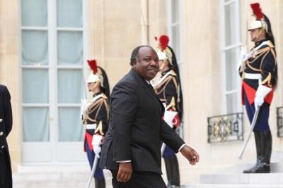 President Ali Bongo Ondimba.
