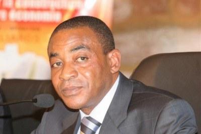 Le ministre de l'Economie et des Finances, Charles Diby Koffi
