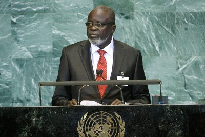 Malam Bacai Sanhá, Former President of the Republic of Guinea-Bissau.