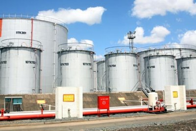 Oil storage tanks at the Kenya Pipeline Company, Industrial Area, Nairobi (file photo).