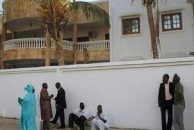 A Dakar, rien ne permet de distinguer le Conseil constitutionnel d'une autre villa