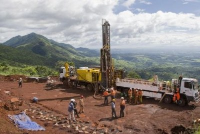 Despite the mineral wealth produced by operations such as this iron ore mine in Guinea, the country is the least competitive of 144 surveyed across the world.