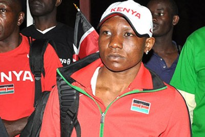 Boxer Elizabeth Andiego: This was the first time in history that a Kenyan female boxer was competing at the Olympics as th country hoped to widen its medal prospect to the discipline.
