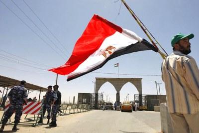 Le poste frontalier entre l'Egypte et Israel.