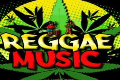 Reggae music logo