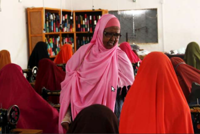 Somalia's Hawa Aden Mohamed Wins Nansen Refugee Award