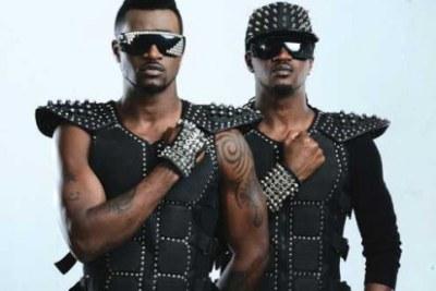 Nigerian duo P-Square.