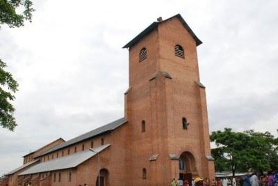 (Photo d'archives) -  Eglise catholique saint Pierre dans la commune de Kinshasa