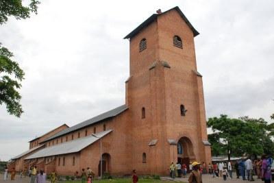 Eglise catholique saint Pierre dans la commune de Kinshasa