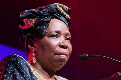 Nkosazana Dlamini-Zuma (file photo).