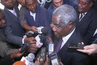 Renamo leader Afonso Dhlakama (file photo).