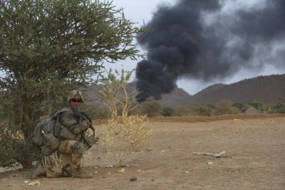 A French military operation in Mali.