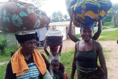 Les populations retournent dans leurs villages après les tueries de mercredi dernier.