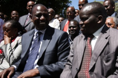 Hague cases for Deputy President William Ruto to be heard on a daily basis during the trial period (file photo).