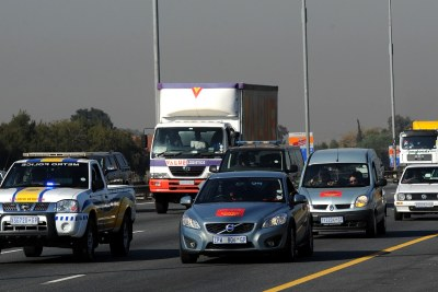 There has been a public outcry over the implementation of e-tolls on Gauteng's highways, with many motorists refusing to pay their bills (file photo).